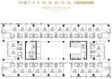 湛江赤坎荣盛中央广场13号楼公寓户型图