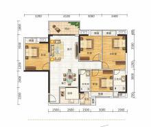 奢享4居4房2厅2卫125
