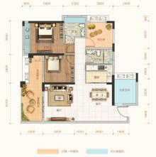 荣福银苑1号楼01户型